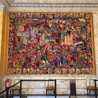 The 20th Century tapestry in full.